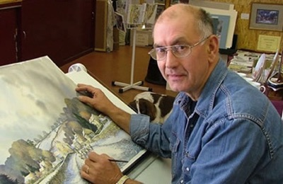 John Freeman artist Member of The Fylingdales Group of Artists